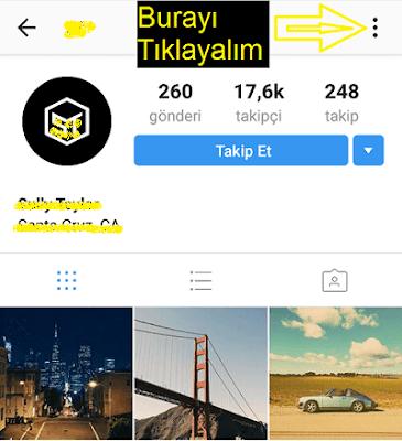 kişi engelleme instagram