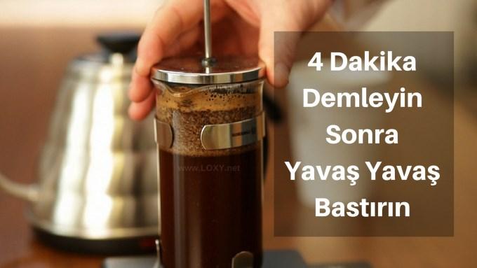Fitre kahve nasıl yapılır? Filtre kahve yapımı