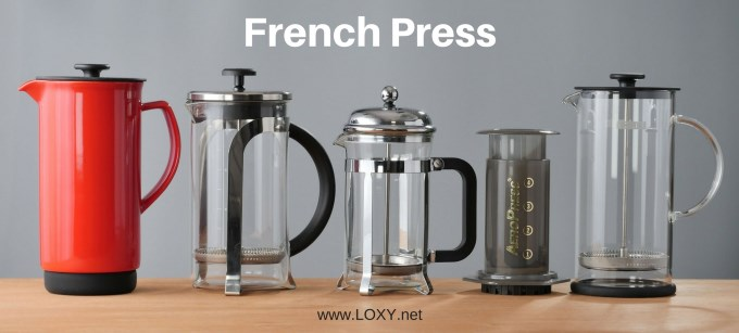 French press kahve