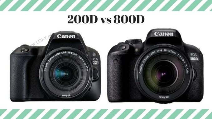 200d vs 800d