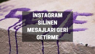 instagram silinen mesajları geri getirme