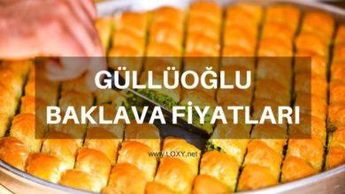Güllüoğlu Baklava Fiyatları