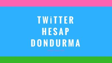 Twitter Hesap Dondurma