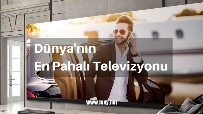 Dünya'nın en pahalı ve en büyük televizyonu