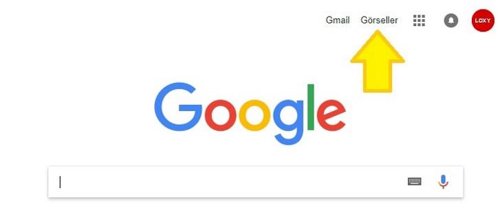 google görsel araması yapmak