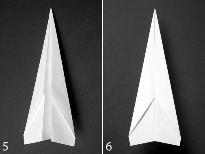 kağıttan uçak yapımı 4