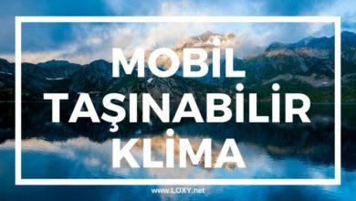 Taşınabilir (Portatif - Mobil) Klima - Kısaca Dış Ünitesiz Klimalar