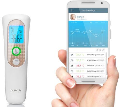Motorola MBP70SN Akıllı Temassız Alından Ateş Ölçer
