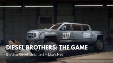diesel brothers sistem gereksinimleri