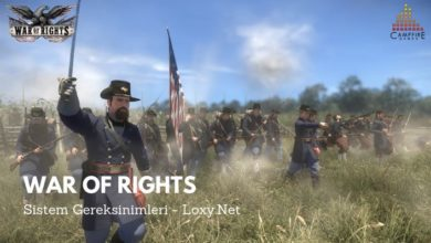 War of Rights Sistem Gereksinimleri