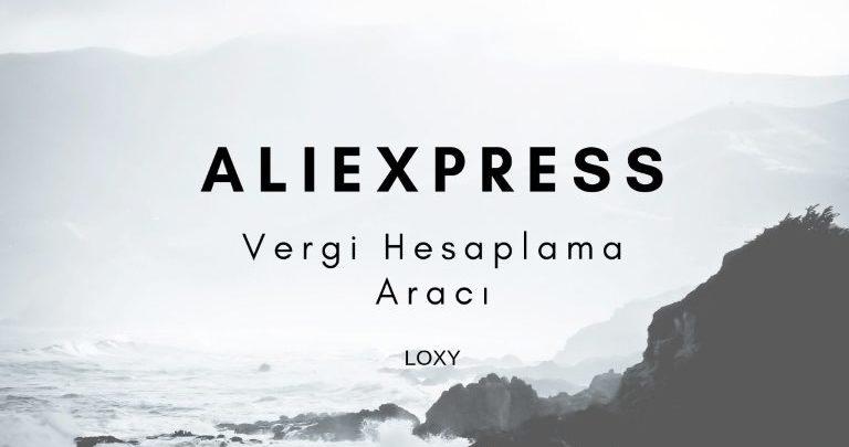 Aliexpress vergi hesaplama
