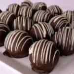 Elmalı muzlu çikolatalı toplar