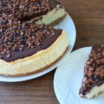 Çikolata soslu cheesecake tarifi