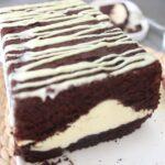 cheescake dolgulu çikolatalı kek