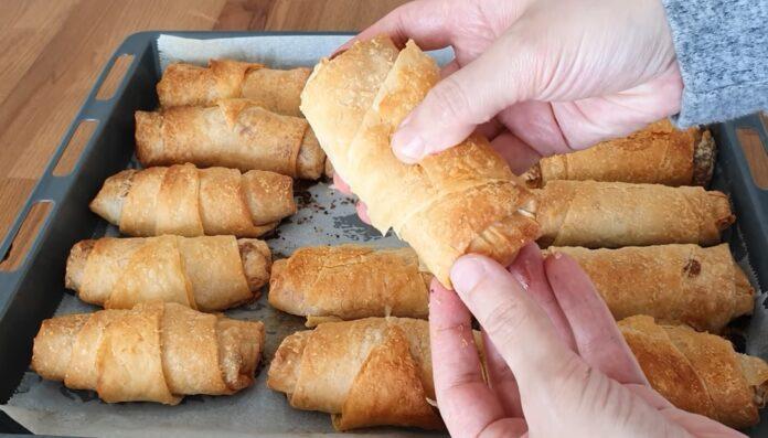 Paçanga böreği fırında tarifi