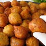Kahvaltılık patates topları tarifi